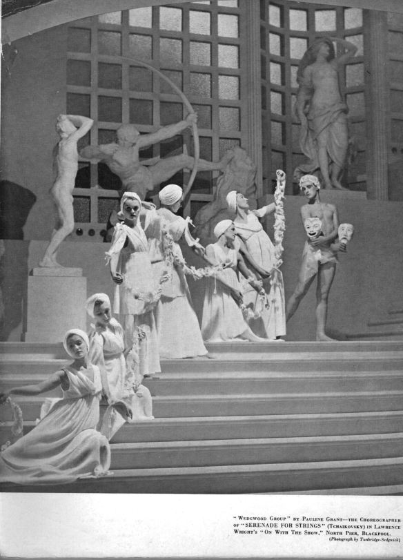 """Pauline Grant's """"Wedgwood Group"""" —unknown English ballet history"""