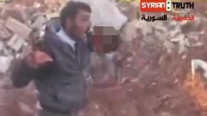 Syrian Cannibal Rebel