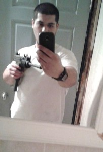 Selfie With An Uzi