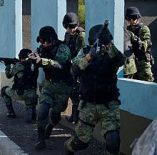 Mexican Army Forces in Michoacan
