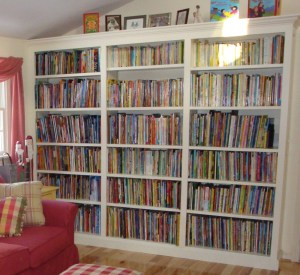 A Portion of the Poetry Books and Picture Books That I Have Collected Over the Years