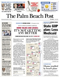 The_Palm_Beach_Post_front_page