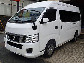 Nissan_NV350_CARAVAN_Microbus_GX_(E26)_front