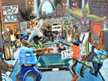 painting-of-cops-as-animals-640x480-640x480