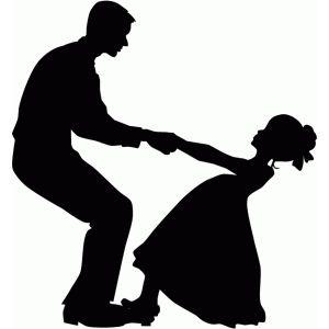 Dad Daughter Dancing