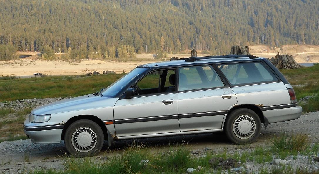 In Memoriam: My Subaru, Aged 25 years 484,000 miles
