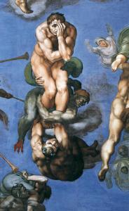 Michelangelo,_Giudizio_Universale_24