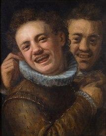 391px-Hans_von_Aachen_-_Two_Laughing_Men_(Self-portrait)