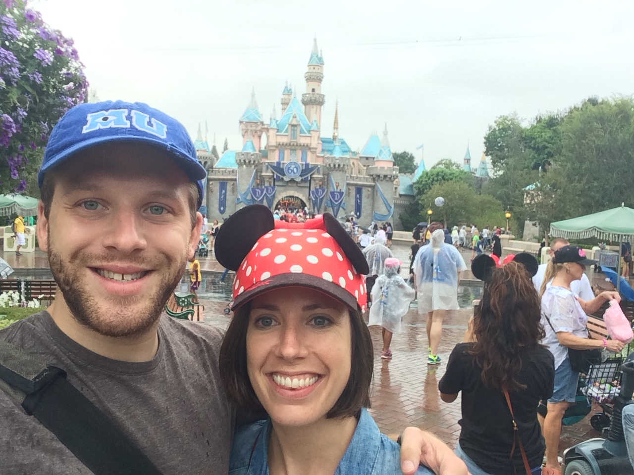 Jonathan and Sarah at Disneyland
