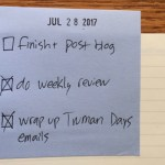 The Daily Post-It Note: A Dead-Easy Way to Get the Right Things Done