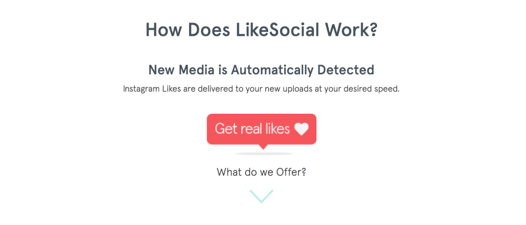 likesocial - how does it work
