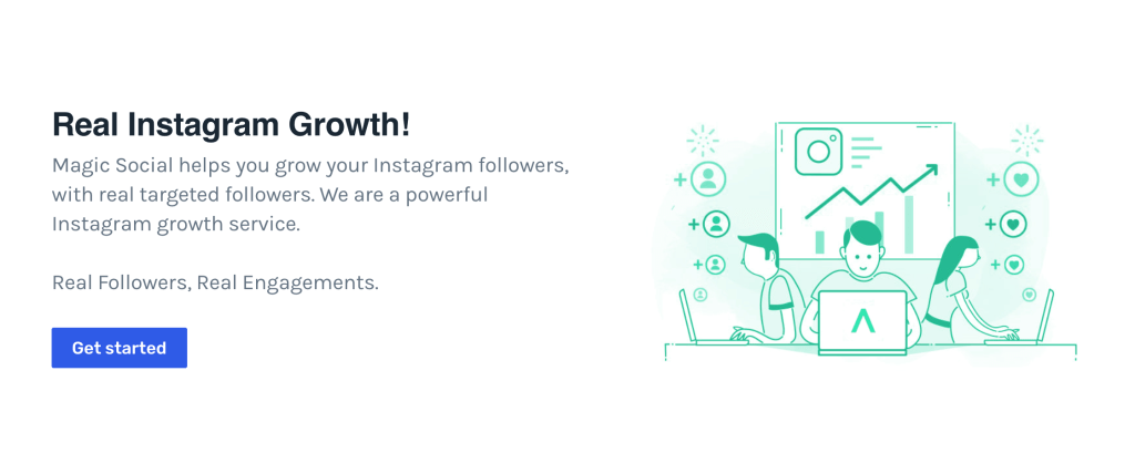 Instagram Growth Service by Magic Social
