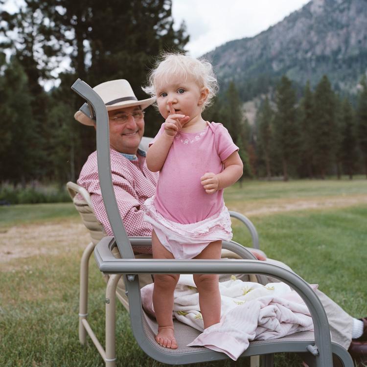 Grace and Grandpa