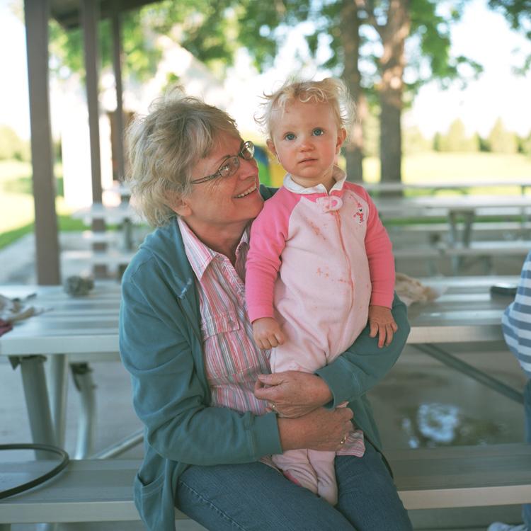 Grandma Smith and Grace