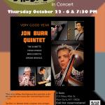 Jon Burr Quintet Birdland-Poster
