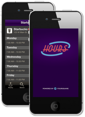 Hours iPhone mockups