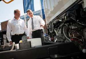Mercedes Benz Trucks open day