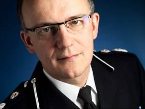 Surrey Police Chief Constable Mark Rowley Portrait