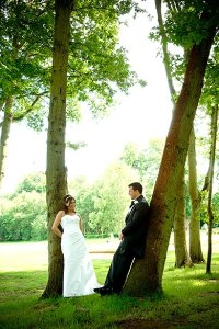 Wedding in the trees at Wentworth