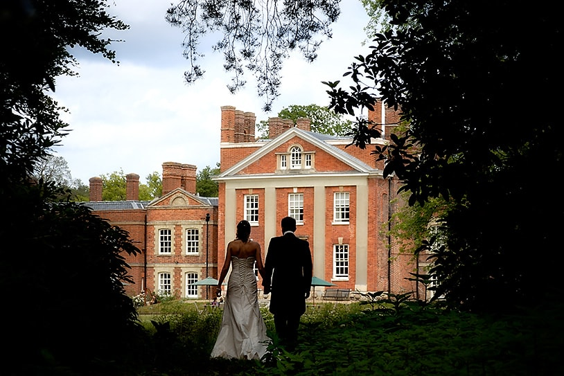 Wedding photography, Warbook House, views of the house