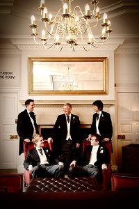 Groom and Groomsmen, civil ceremony, warbrook house wedding