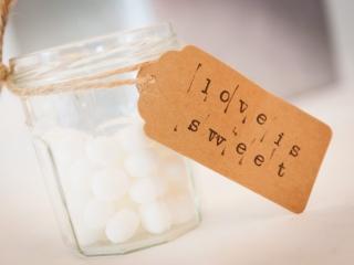 Sweet jar table treats at Frensham Pond Hotel