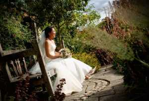 Laughing Bride at Bury Court, Bently