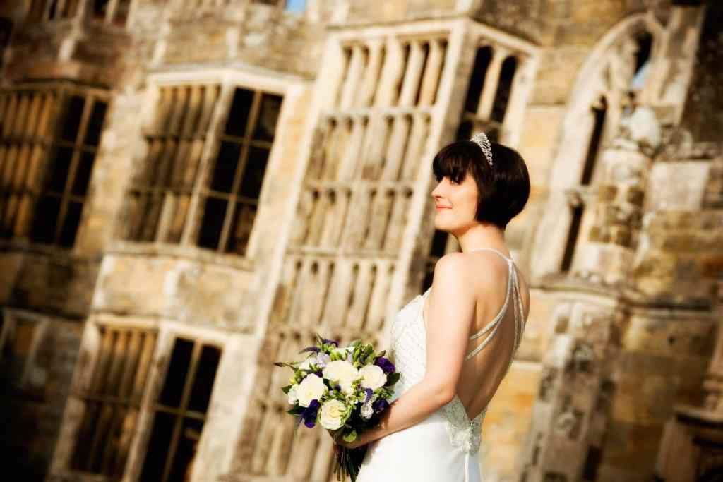 Bride in the Ruins of Cowdray Park