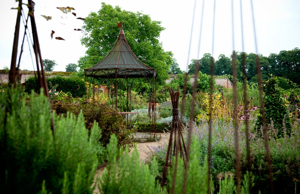 Breathtaking Gardens The Walled garden at Cowdray Park, Jones and Co Photography