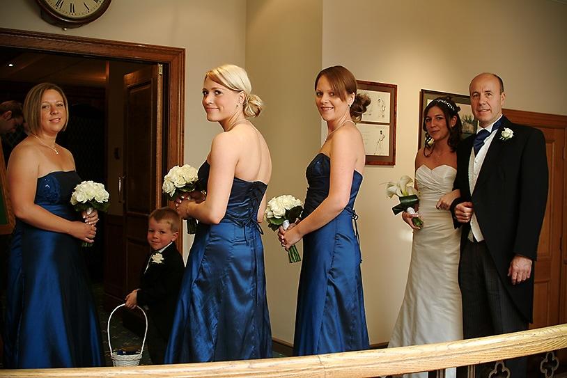 Pre Wedding Bride and Father