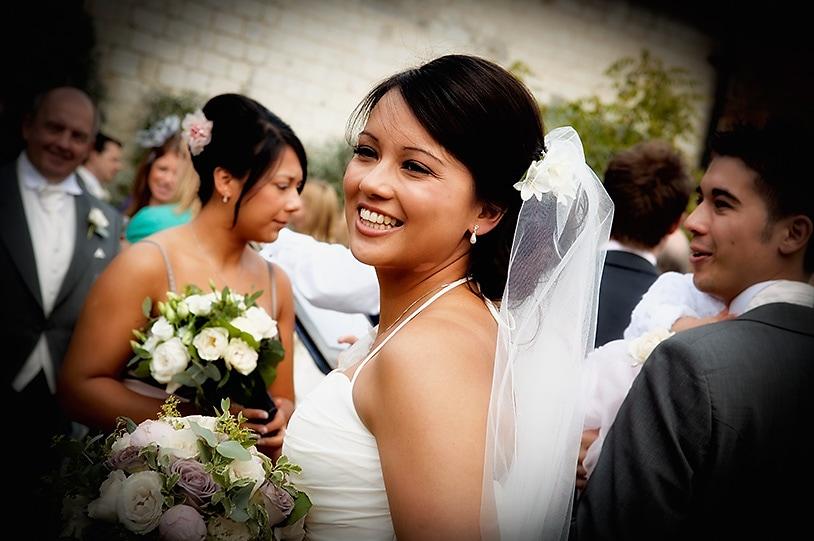 Stunning Bride at The Barn at Bury Court, Bentley, Surrey