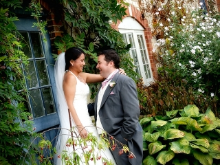 Wedding Photographer at The Barn at Bury Court Bentley