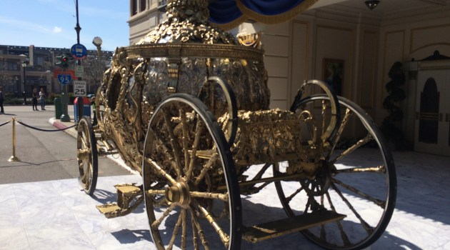 New Cinderella Coach and Starbucks at Disney's Hollywood Studios