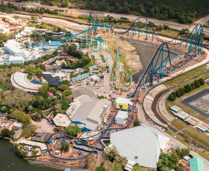 Mako, SeaWorld Orlando-Get Ready for Orlando's Longest Coaster
