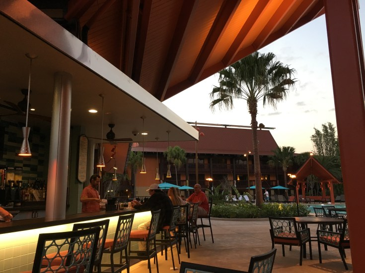 New Dining at Disney's Polynesian Village Resort-Oasis Bar and Grill