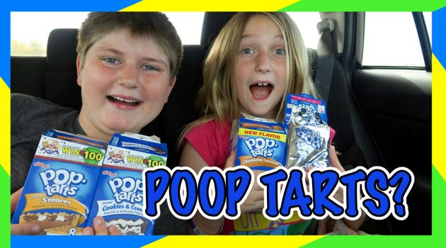 Pop Tart Challenge Road Trip Edition!
