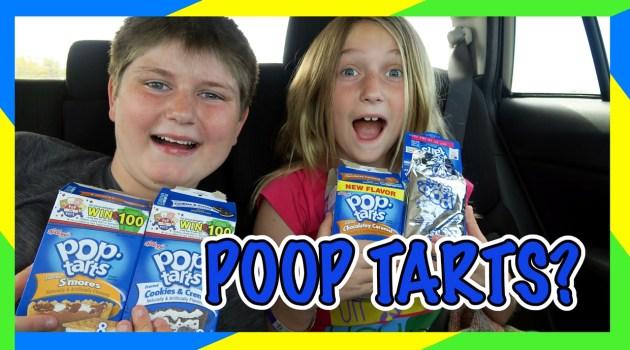 Pop Tart Challenge Road Trip Edition!