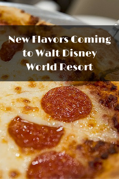New Flavors Coming to Walt Disney World Resort