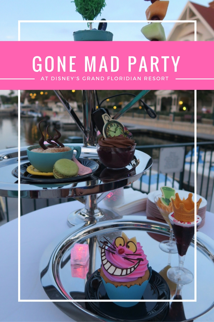 Gone Mad Party at Disney's Grand Floridian Resort!