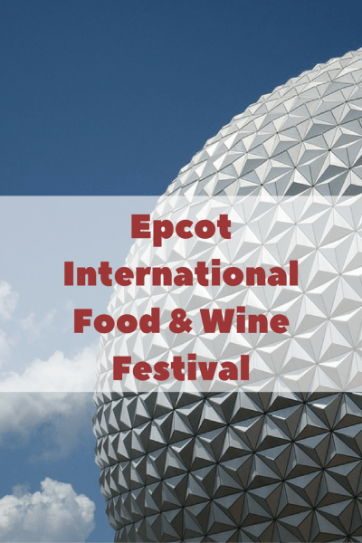 Epcot International Food & Wine Festival Magic Shot from Disney PhotoPass