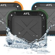 Portable-Outdoor-and-Shower-Bluetooth-40-Speaker-by-AYL-SoundFit-Waterproof-Wireless-with-10-Hour-Rechargeable-Battery-Life-Powerful-5W-Audio-Driver-Pairs-with-All-Bluetooth-Devices-0-0