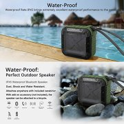 Portable-Outdoor-and-Shower-Bluetooth-40-Speaker-by-AYL-SoundFit-Waterproof-Wireless-with-10-Hour-Rechargeable-Battery-Life-Powerful-5W-Audio-Driver-Pairs-with-All-Bluetooth-Devices-0-4