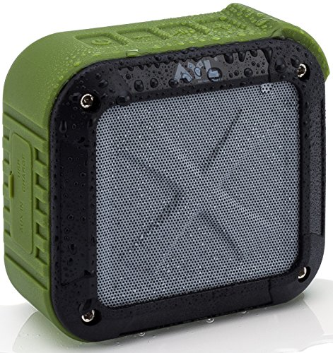 Portable-Outdoor-and-Shower-Bluetooth-40-Speaker-by-AYL-SoundFit-Waterproof-Wireless-with-10-Hour-Rechargeable-Battery-Life-Powerful-5W-Audio-Driver-Pairs-with-All-Bluetooth-Devices-0