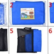 Sunland-Microfiber-Sports-Towels-2-Pack-Dark-Blue-16inch-X-32inch-0-6