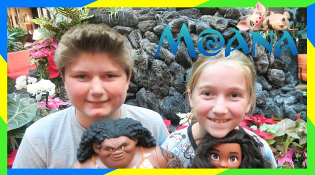 Unboxing Moana Toys!