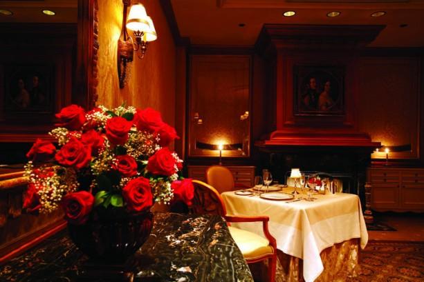 Elegant Victoria and Albert's restaurant at Disney's Grand Floridian