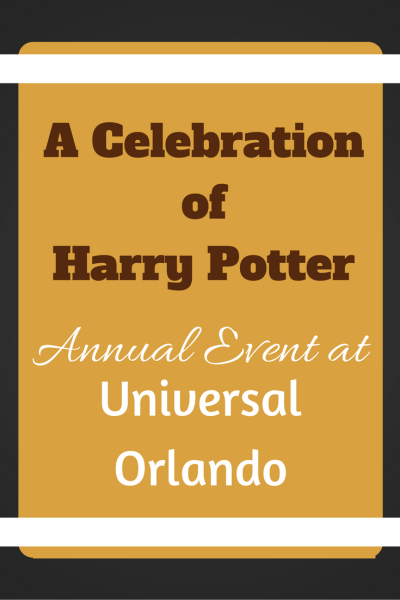 A Celebration of Harry Potter at Universal Orlando- New Details Revealed!