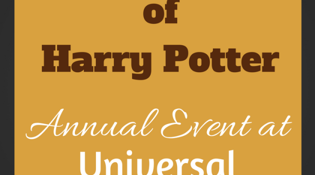 Universal Orlando Hosts 4th Annual A Celebration of Harry Potter