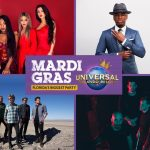Universal Mardi Gras 2017 Concert Line-Up