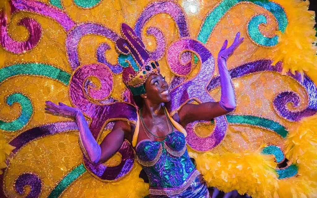 Universal Mardi Gras 2017 Parade Performer